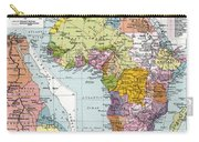 Partitioned Africa, 1914 Carry-all Pouch