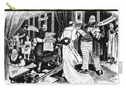 Press Cartoon, 1912 Carry-all Pouch