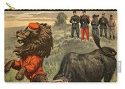 Boer War Cartoon, 1899 Carry-all Pouch