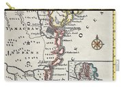 Map: North America, C1700 Carry-all Pouch