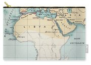 Map: Phoenician Empire Carry-all Pouch