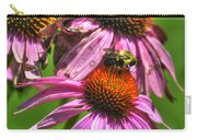 01 Bee And Echinacea Carry-all Pouch