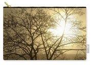 01 Foggy Sunday Sunrise Carry-all Pouch