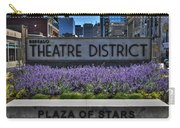 01 Plaza Of Stars Buffalo Theatre District Carry-all Pouch