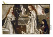 Spain: Annunciation, C1500 Carry-all Pouch