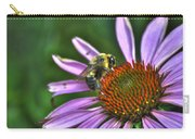 02 Bee And Echinacea Carry-all Pouch