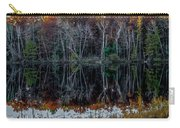 02l Reflections At  Gowen Michigan Carry-all Pouch