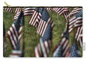 03 Flags For Fallen Soldiers Of Sep 11 Carry-all Pouch
