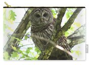 0304-002 - Barred Owl Carry-all Pouch