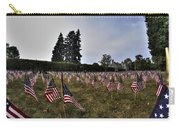 04 Flags For Fallen Soldiers Of Sep 11 Carry-all Pouch