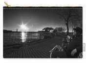 04 Me Sunset 16mar16 Bw Carry-all Pouch
