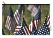 07 Flags For Fallen Soldiers Of Sep 11 Carry-all Pouch