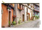 Half-timbered House Of Eguisheim, Alsace, France Carry-all Pouch