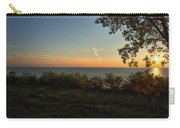 0874- Lake Michigan Sunset Carry-all Pouch