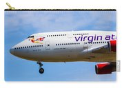 A Virgin Atlantic Boeing 747 Carry-all Pouch