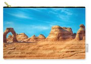 Famous Delicate Arch In Arches National Park Carry-all Pouch