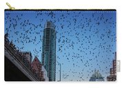 1.5 Million Mexican Free-tail Bats Overtake The Austin Skyline As They Exit The Congress Avenue Bridge Carry-all Pouch