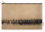 180 Degrees Panorama Troops Passing In Review No Date Or Locale Restored Color Added 2008 Carry-all Pouch