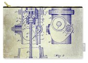 1903 Fire Hydrant Patent Carry-all Pouch