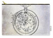 1913 Pocket Watch Patent Carry-all Pouch