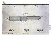 1920 Paring Knife Patent Carry-all Pouch
