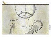 1924 Baseball Patent Carry-all Pouch