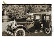 1924 Buick Duchess Antique Vintage Photograph Fine Art Prints 10 Carry-all Pouch