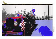 1930 American Lafrance Fire Truck Pro-viet Nam War March Tucson Arizona 1970 Color Added Carry-all Pouch