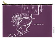 1936 Toilet Bowl Patent Chalk Carry-all Pouch