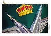 1954 Chrysler Imperial Sedan Hood Ornament Carry-all Pouch