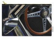1963 Jaguar Xke Roadster Steering Wheel Carry-all Pouch
