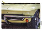 1965 Yellow Sting Ray Front Bumper Carry-all Pouch