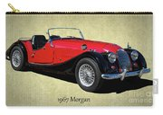 1967 Morgan Classic Sports Car Carry-all Pouch