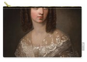 19th Century Russian Artist Portrait Of Countess Aleksandra Vladimirovna Musina-pushkina, 1853 Carry-all Pouch