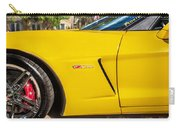 2013 Chevrolet Corvette Zo6 Painted Bw  Carry-all Pouch