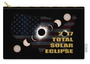 2017 Total Solar Eclipse Across America Carry-all Pouch