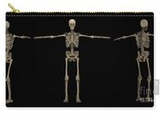 3d Rendering Of Human Skeletal System Carry-all Pouch