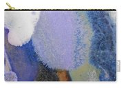44. Blue Purple White Glaze Painting Carry-all Pouch
