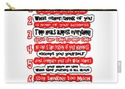 7 Principals Of For Happy Life See On Pillows Curtains Duvet Covers Tote Bags Phone Cases Posters Ca Carry-all Pouch