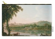 A Distant View Of Rome Across The Tiber Carry-all Pouch