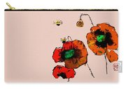 A Few Poppies Carry-all Pouch