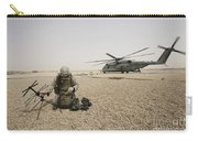A Field Radio Operator Sets Carry-all Pouch by Stocktrek Images