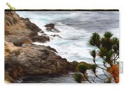 A Grey Day At Big Sur 2 Carry-all Pouch