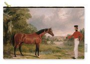 A Horse And A Soldier Carry-all Pouch