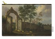 A Landscape With A Ruined Archway Carry-all Pouch