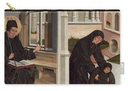 A Miracle Of Saint Benedict Carry-all Pouch