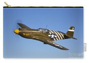 A P-51a Mustang In Flight Carry-all Pouch