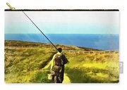 A Plaice To Fish Carry-all Pouch by Vix Edwards