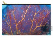 A Red Sea Fan With Purple Anthias Fish Carry-all Pouch by Steve Jones