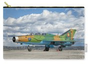 A Romanian Air Force Mig-21b Airplane Carry-all Pouch